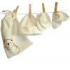 Saquitos neonato algodón